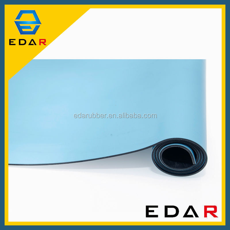 0.5mm thick static-dissipative layer Eco-friendly Playground Antistatic Rubber Floor Mat anti static floor mat