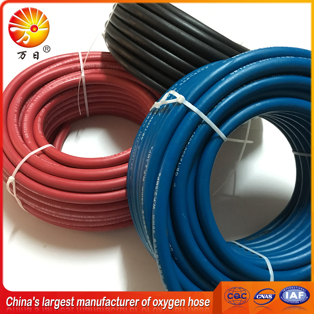 3/8'' high pressure hydraulic rubber hose air hose welding hose