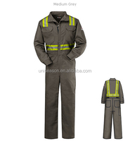 China unisex workwear used frc t/c coverall