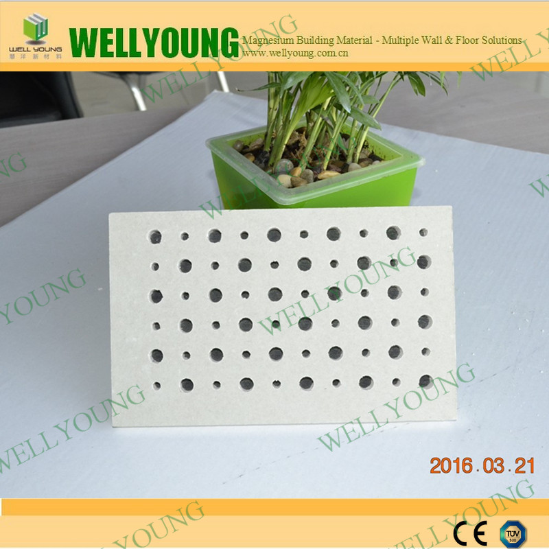 Cheap Prices Moisurepfoof perforated acoustic plaster board for office