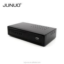 Cheapest 2017 SHENZHEN Junuo MPEG4 USB DVB-T2 TV Tuner HD DVB T2 Digital TV Box