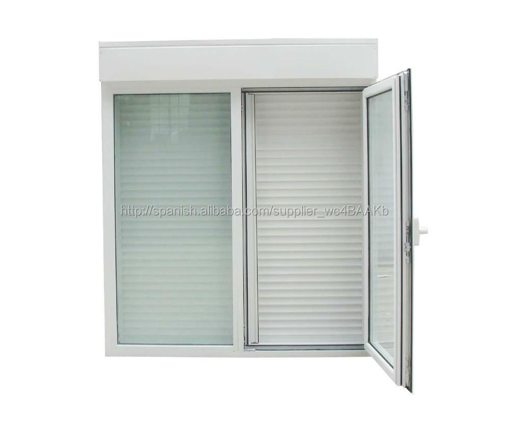 Mosquitera persiana ventana de aluminio ventanas for Puertas monoblock precio