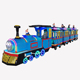 Amusement park Electric Trackless Train Set Ride For Adults