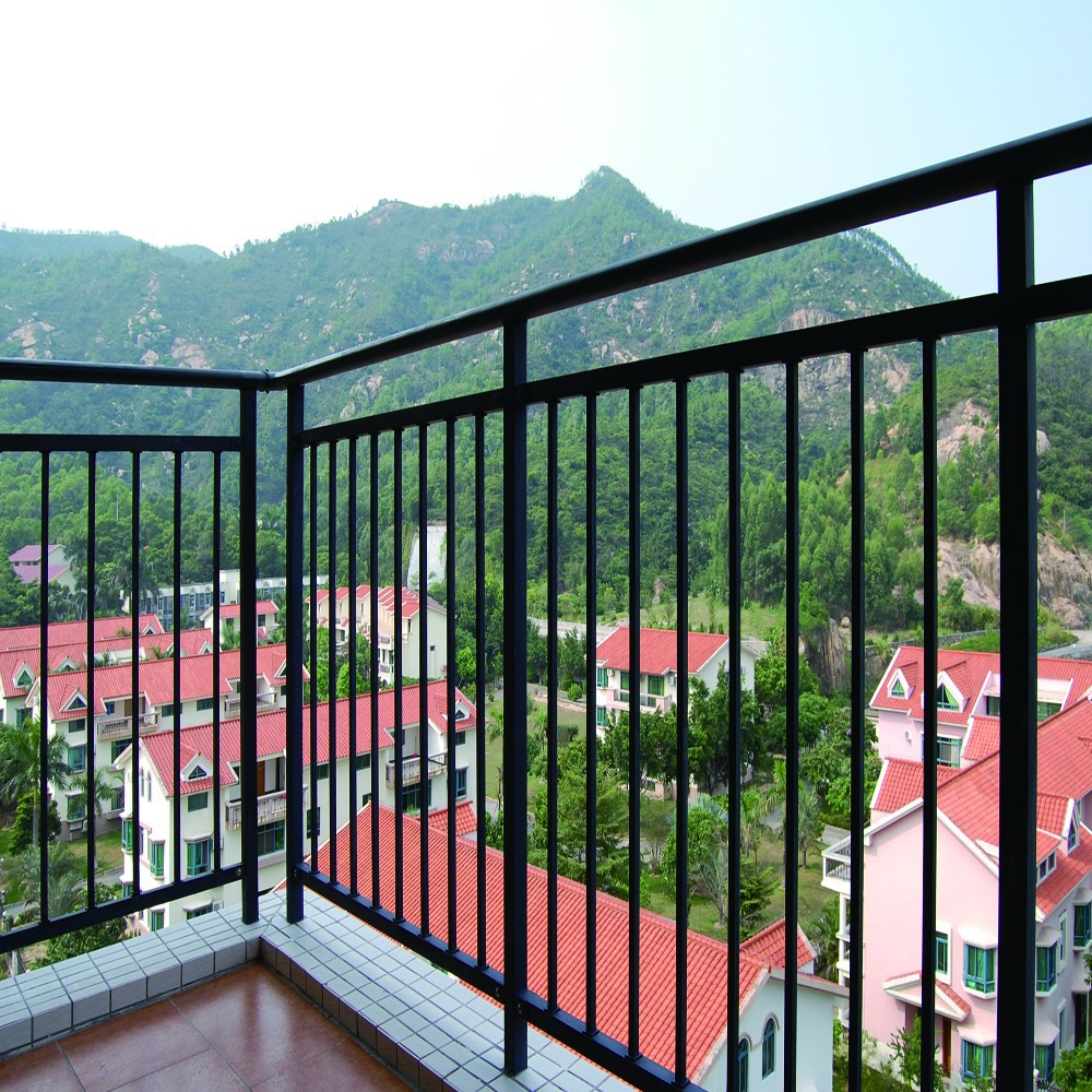 Front Elevation Railing Designs : Modern design ms square pipe balcony railing buy