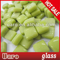 Jade Series 10x10x4mm Glass Mosaic Color