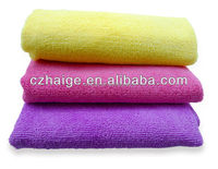 with package high quality 100% microfiber washcloth