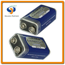 Home appliance wholesale 9 Volt Dry Battery Used in Pocket Radios and Other Small Electronic Devices