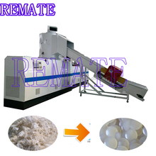 Full automatic pe stretch film pelletizing machine/pelletizer