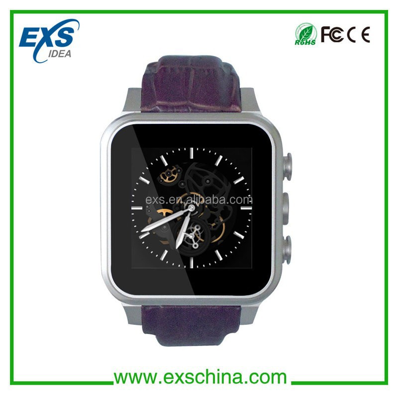 2015 bluetooth projector andriod smart watch 3g for mobile phone