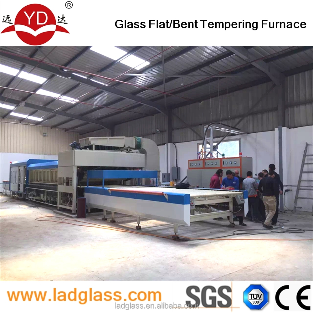 Safety glass automatic tempering toughening machine