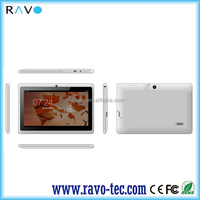 Quad core Allwinner A33 android4.4 7inch Q88 Double camera Bluetooth cheapest tablet pc