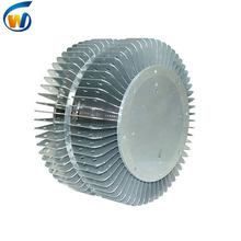 Led tinggi bay cahaya aluminium radiator sirip