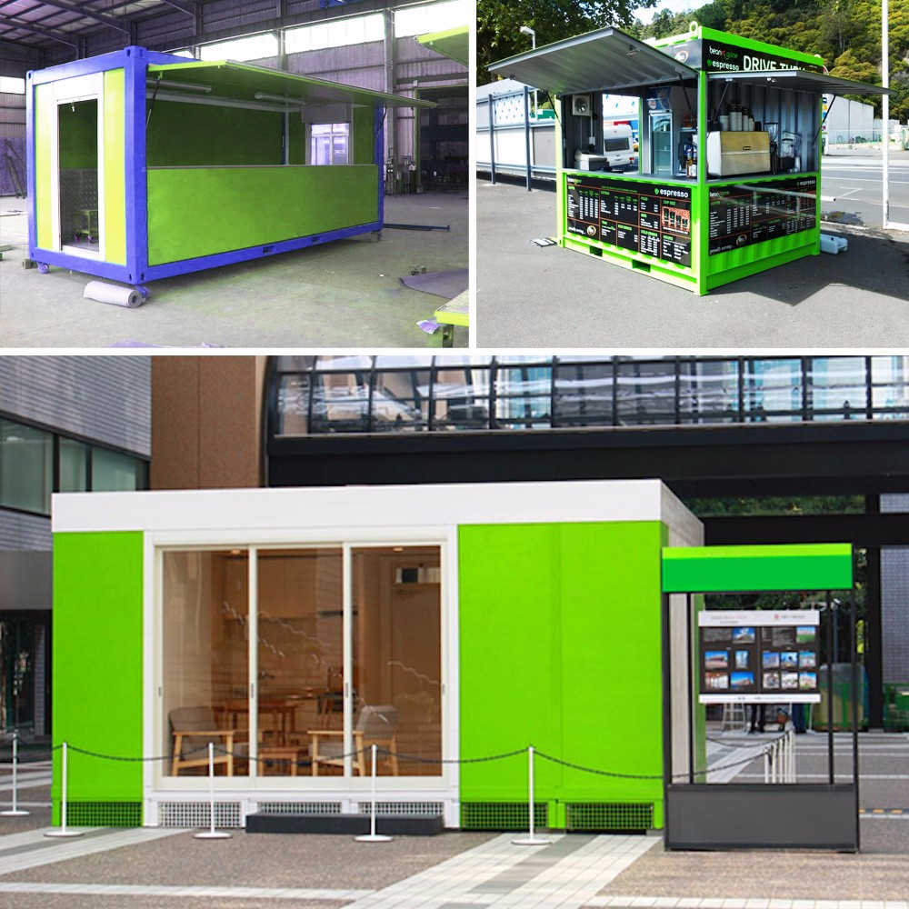 Export to Philippines bright modular container houses