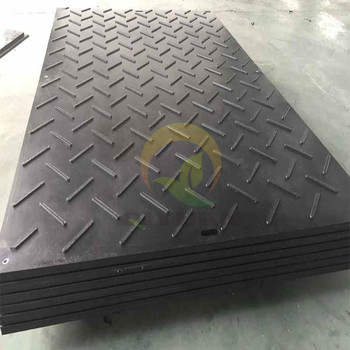 High impact resistant uhmwpe road mat and hdpe large plastic floor mat