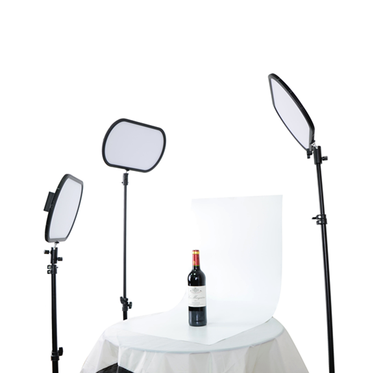 soft led video light panel cri 95 high color temperature for photography shooting