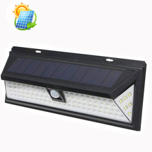 Best Selling 90 LED solar wall mounted light,IP 65 waterproof solar led light garden outdoor wall