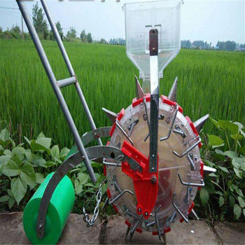 vegetable planter hand push seeder Manual seeder with fertilizer maize planter