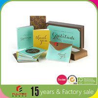 Wholesale unique style handwritter greeting cards box sets