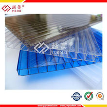 Bayer Blue Crystal Polycarbonate Hollow Sheet