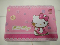 lovely hello kitty tin box , cookie tin box , lunch tin