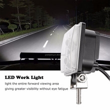 12W LED Work Light 12V Offroad 4X4 Tractor Truck 24V Motorcycle ATV Offroad Fog Lamp 12W LED Working Driving Light