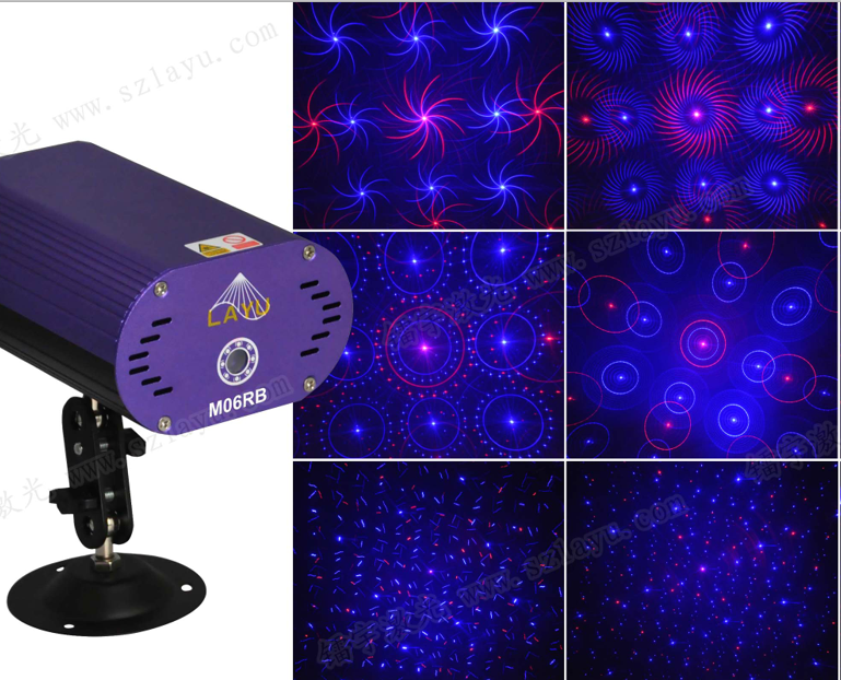 50% off promotion disco party dj Christmas RB GB dc12v mini <strong>laser</strong> light USD29.00/PCS