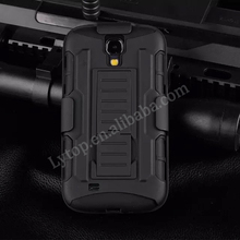 Slim shock proof armor case for samsung galaxy s4 i9500, for samsung galaxy s4 case with kickstand belt clip