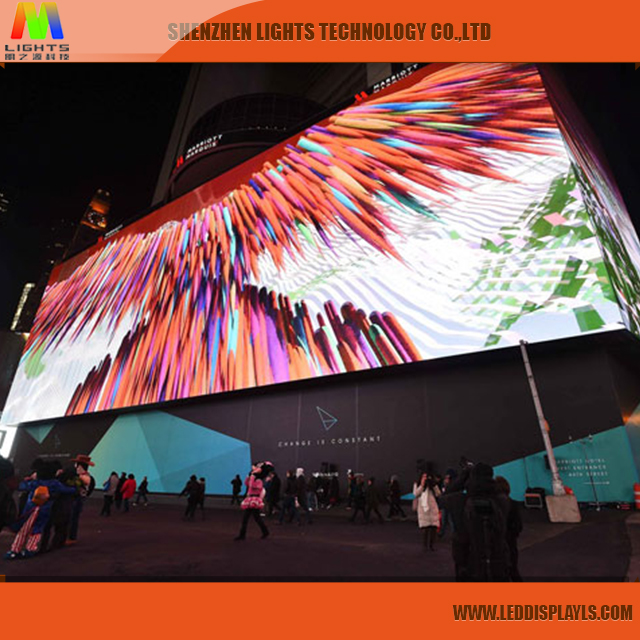 Hot Sale Product Sex Videos Outdoor LED Screen P8 with High Definition and Brightness from Shenzhen