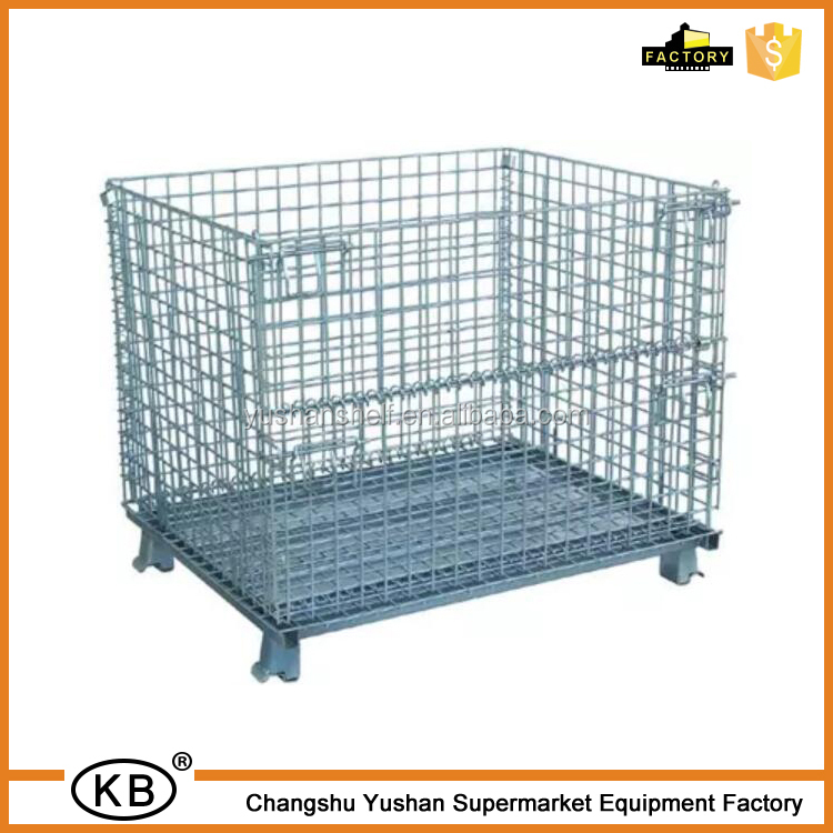 New Arrival Storage Wire Mesh Warehouse Cage Metal Cage By Factory