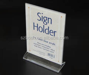 Acrylic picture frame, acrylic poster frame, Acrylic photo sign