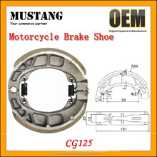 China Factory OEM AOTISI Brand Name 185g 210g Motorcycle CG125 Brake Shoes