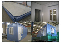 Portable container Building/New Modular CONTAINER Office with DOUBLE 20FT&40FT