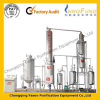 Multi-function Pure Physical Energy Saving Smart Control oil recycling production line