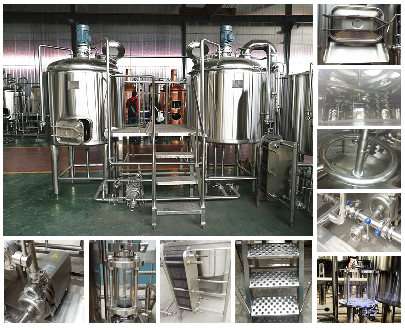 small brewpub 5hl complete brewery equipment for restaurant