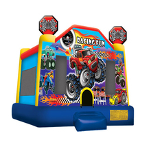 Racing Fun C4 car inflatable bouncer jumper/ jumping bouncy castle/ bounce house moon walker moonwalk