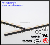 1.27mm single row SMT pin male header connector