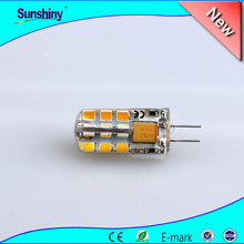 Hot sell ac 12v led light g4 24smd 3014/3528/5050/5730 smd led light