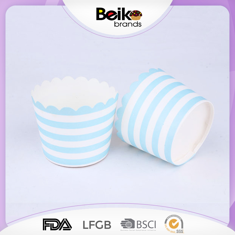 Blue stripes Paper Muffin Baking Cups,Paper Cupcake Liner Cake Mould,Baking Cup