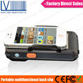 Portable Android Wireless 1D 2D Barcode + RFID Reader Writer