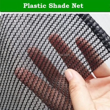plastic home garden sun shade cloth with hem and eyelets / dark green shade net