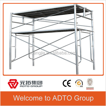 Q235 galvanized scaffolding mason frame for construction made in china for africa