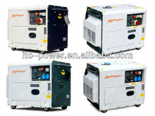 ITCPower DG7500SE 5kW portable silent soundproof electric green power genset