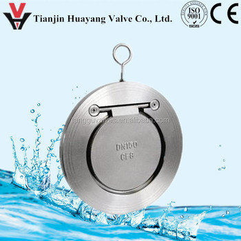 Single Door swing cf8m flap Check valve pn16