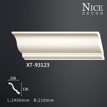 Top sale inside pu cornice corner ceiling moulding from alibaba