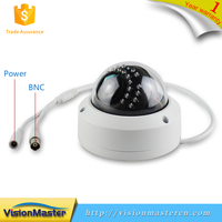 4.0MP Indoor and Outdoor White Dome P2P 30m IR AHD POE Camera