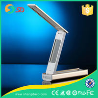 Made in China Factory Led Lights Apple Study Desk Lamp Portable Flexible Folding Reading Led Table Lamp