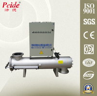 Large Capacity Vertical Type Ultraviolet Sterilizer For Water Works