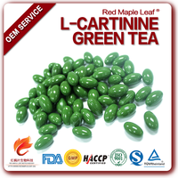 Natural Herbal Slimming Diet Green Tea L-carnitine Pills Capsule