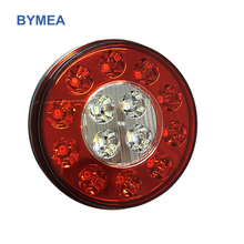 High Quality 4'' LED Signal Light LED Stop turn tail back-Up Light four In One Lamp For Truck TRAILER