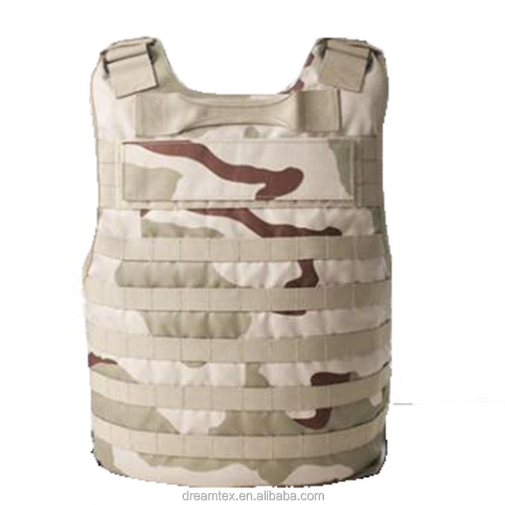 Custom outdoor bullet proof tactical vest / kevlar anti-stab vest for army fans